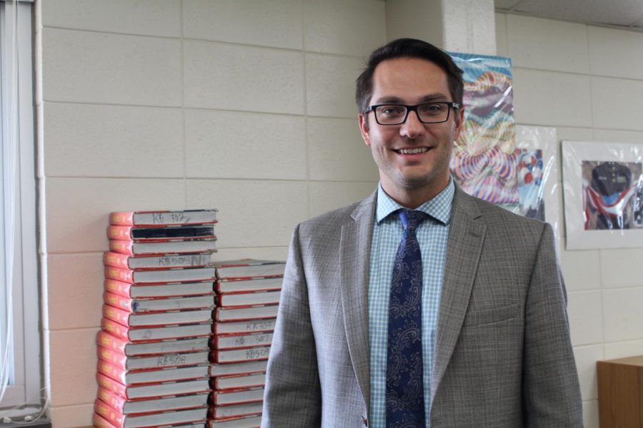 Jonathan Pascal, West Brunswick High School Assistant Principal