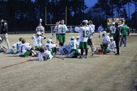 Men's Lacrosse Defeats the South Brunswick Cougars