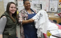 Mrs. Vaught's First Period Screen Printing Project