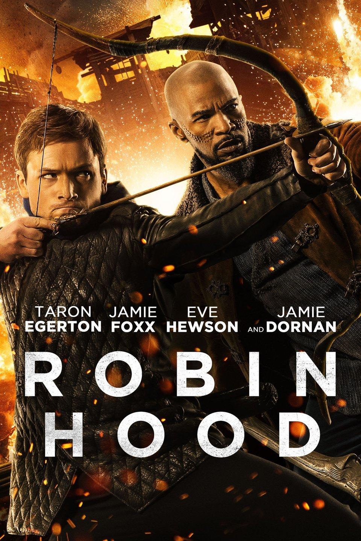 Taron Egerton and Jamie Foxx star in the new Robin Hood movie.