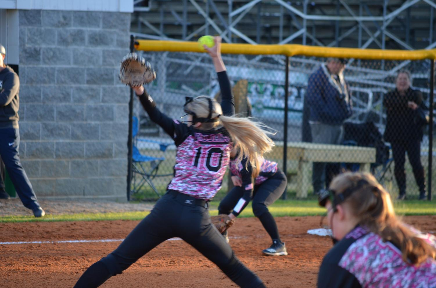 Morgan Beeler winding up for another great pitch