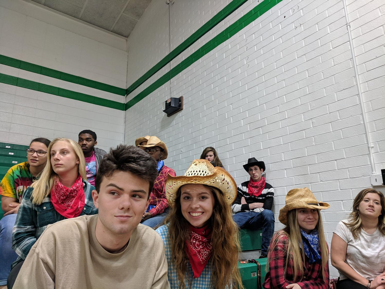 2019 Journalism class as the Wild Wild West Wind!