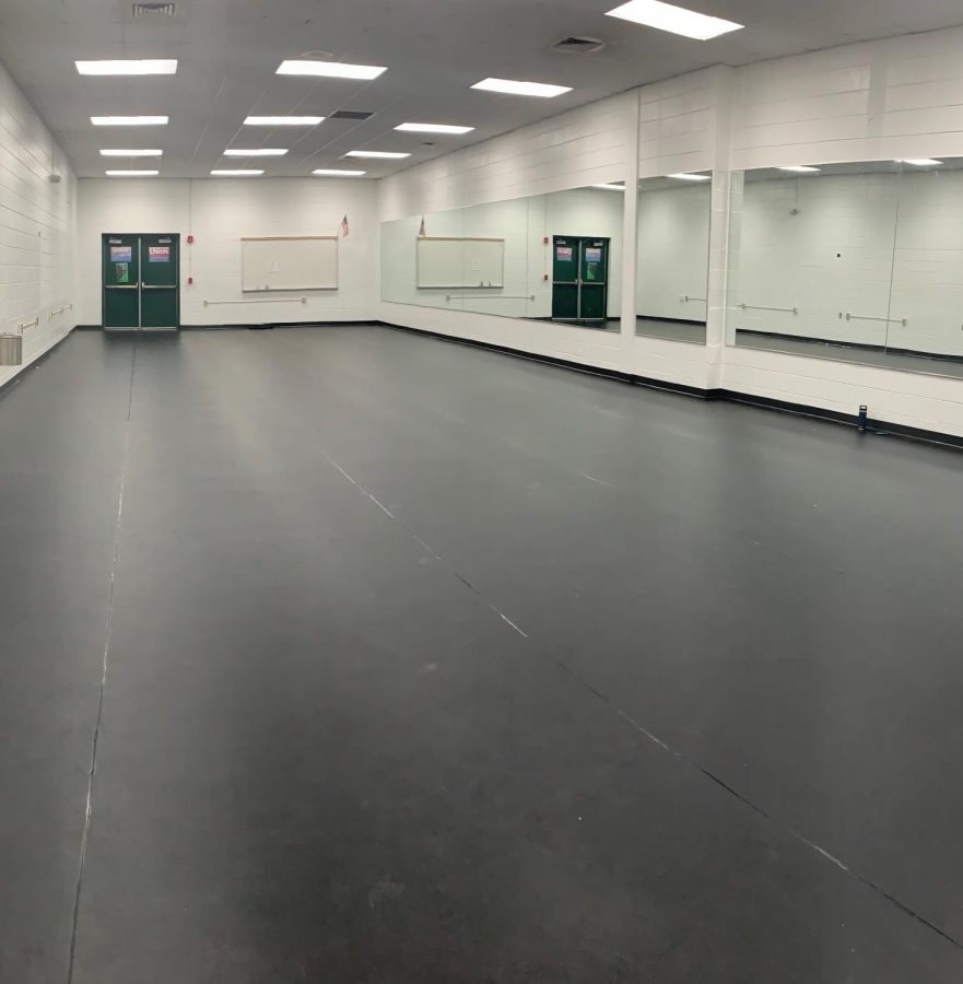 The new dance room!