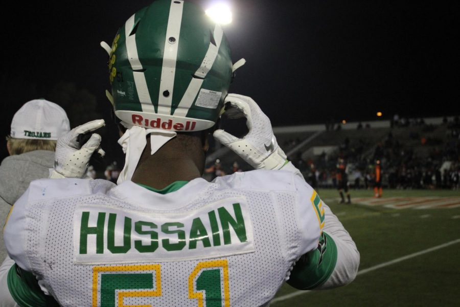 Hasain+Hussain+prepares+to+go+on+the+field.