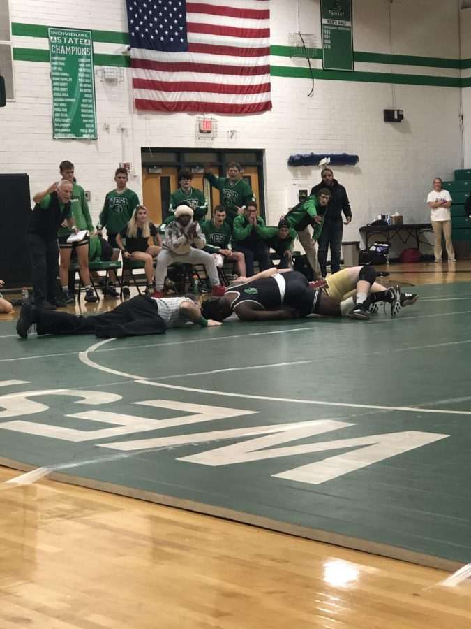 Trojans Wrestling team takes a tough loss against the Screaming Eagles!