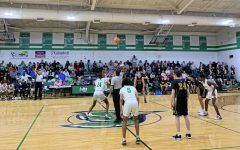The Men's basketball team defeated the Topsail Pirates 62-53