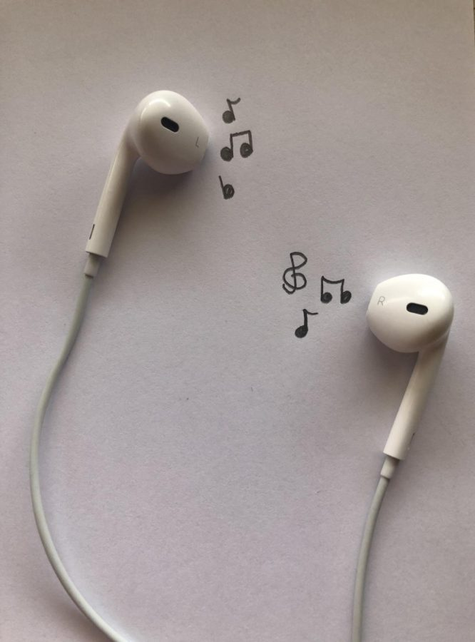 Putting music on full blast and jamming to your favorite music is always the best!