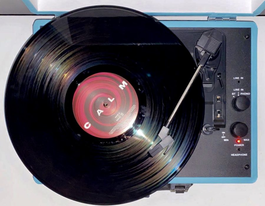 Record players are a great way to listen to music and add some vintage feel.