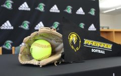 Pfeiffer University is where Gracie Griffin plans to spend her years studying while also playing for their softball team, go Falcons!