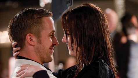 "Ryan Gosling and Emma Stone star in ""Crazy, Stupid, Love."""