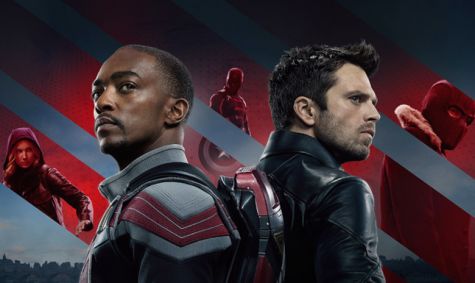 """Anthony Mackie and Sebastian Stan star in the new Disney Plus series, """"The Falcon and The Winter Soldier."""""""