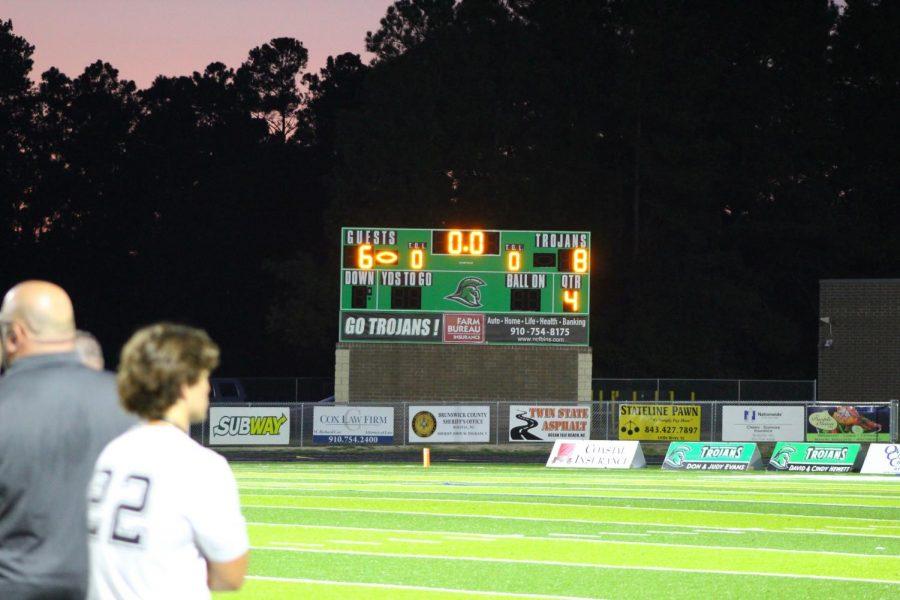 The final score, 8-6.